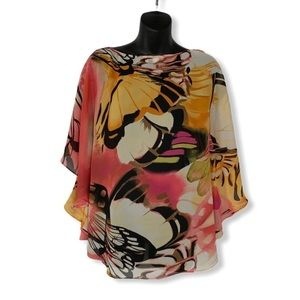 Laura Butterfly Patterned Blouse